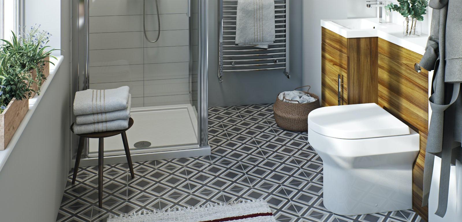 Clever small toilet ideas for Small wc ideas
