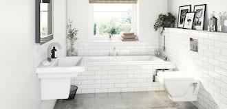 Bathroom suites for small bathrooms
