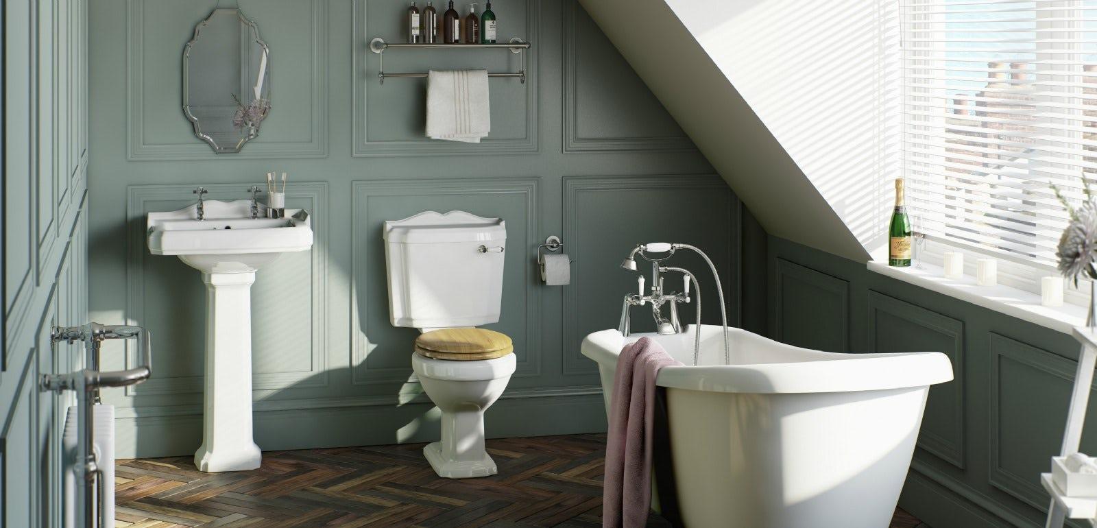 1930s Bathroom Bathroom Style Guide Art Deco Victoriaplumcom