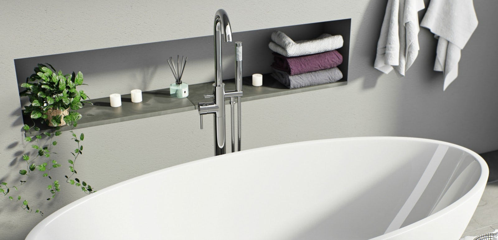 Bring a swish of TOWIE style glamour into your bathroom