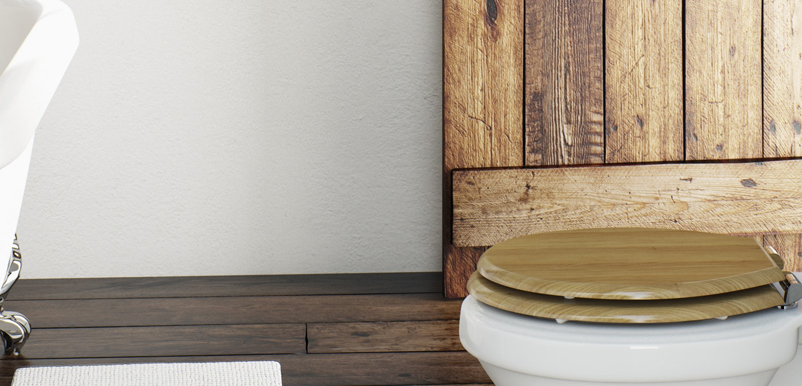 Get the natural look - The latest bathroom trends