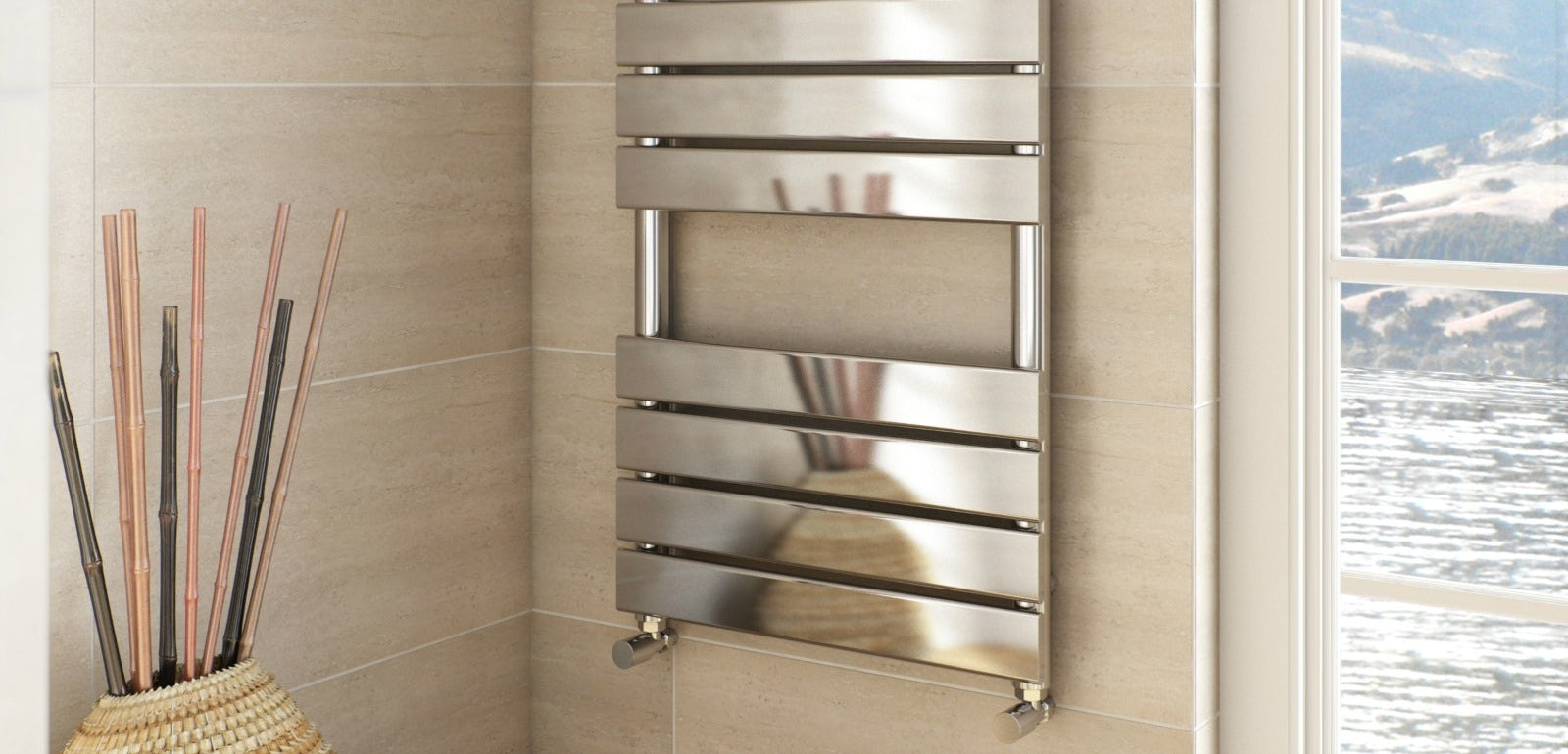 The ultimate winter bathroom accessory - Towel racks for small spaces concept ...