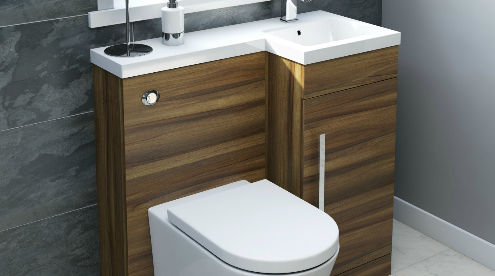 Toilet Sink Unit : Toilet and Basin Unit Buying Guide VictoriaPlum.com