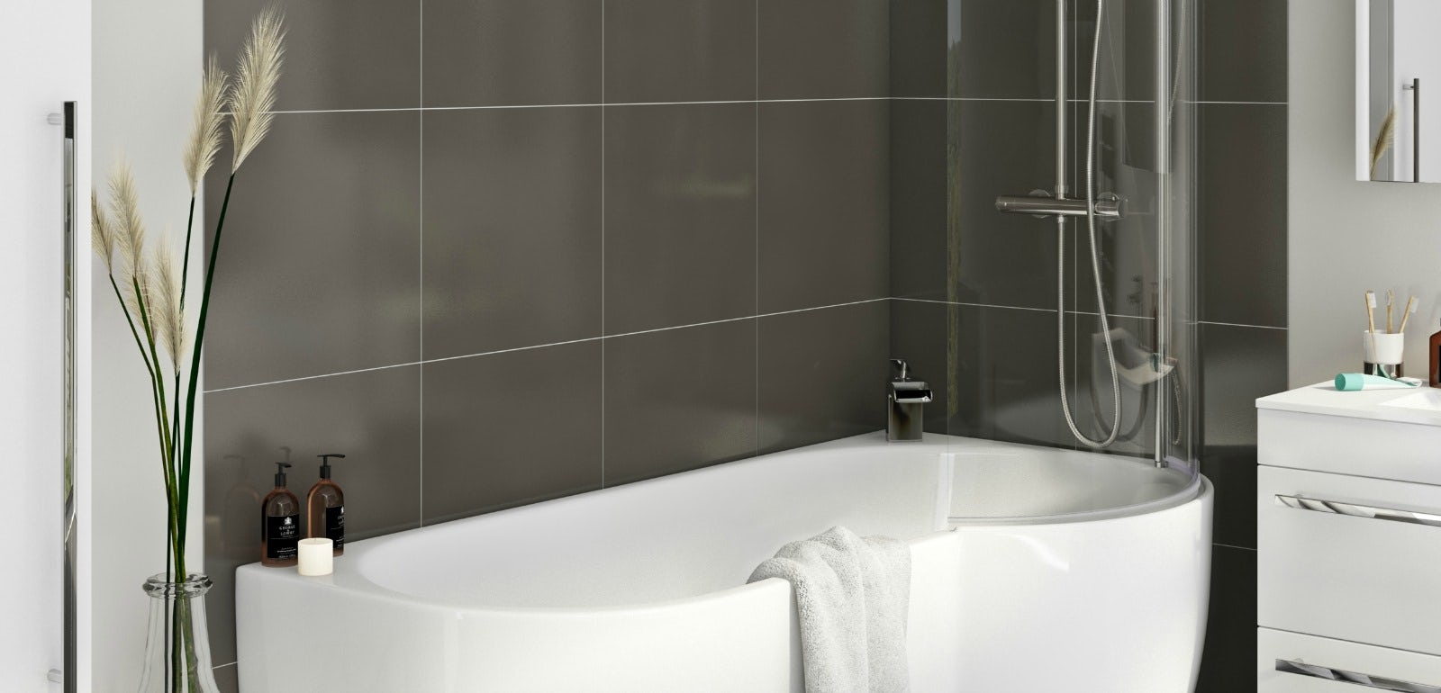 Fully Tiled Bathroom How Much To Pay To Have A Bathroom Fitted Victoriaplumcom
