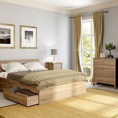 Sydney Oak Bedroom Furniture