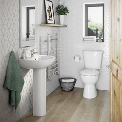 Clarity bathroom suite range