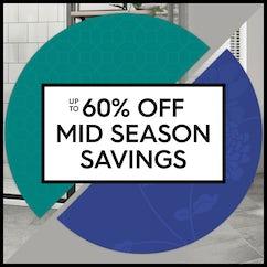 Up to 60% off Mid Season Savings