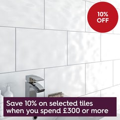 10% off selected tiles when you spend £300