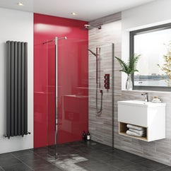 Shower enclosures shower cubicles - Bathroom wall covering instead of tiles ...