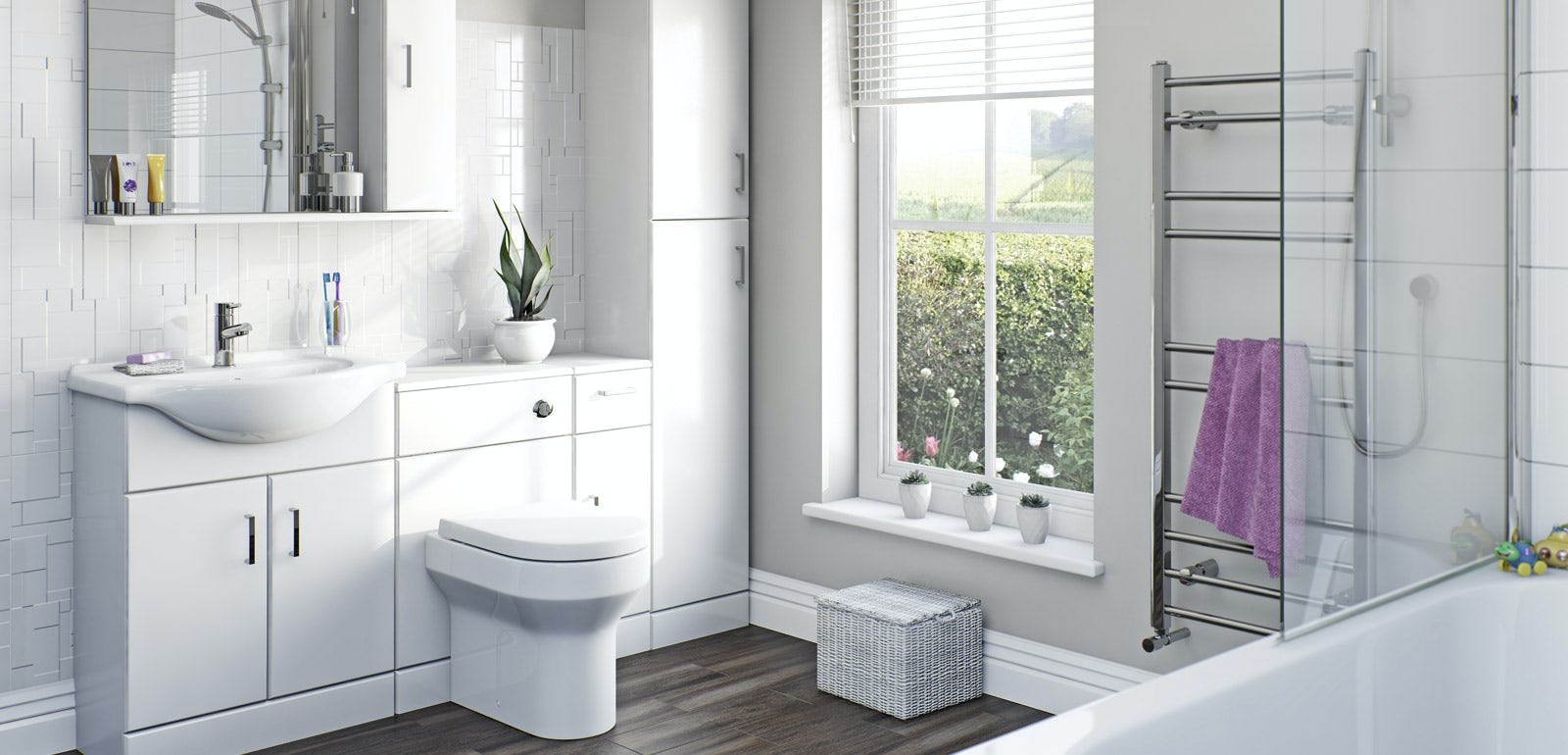 Awesome Functional Minimalist White Bathroom Furniture  DigsDigs