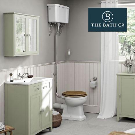 Camberley Sage Bathroom Furniture