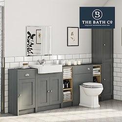 Winchester grey bathroom furniture