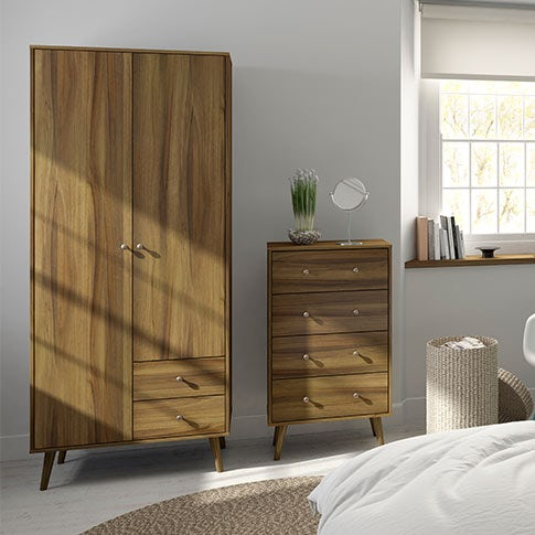Helsinki Walnut Bedroom Furniture