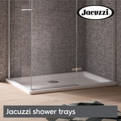 Jacuzzi shower trays