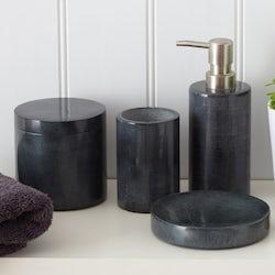 Black marble accessory range