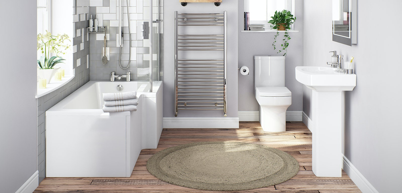Vermont Bathroom Suite Range