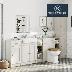 Winchester ivory bathroom furniture