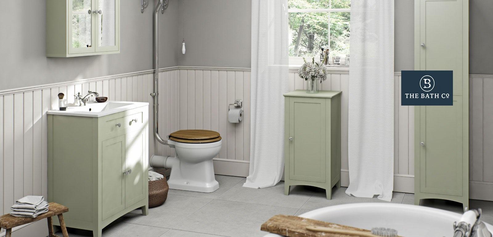 Camberley sage bathroom furniture for Bathroom 00