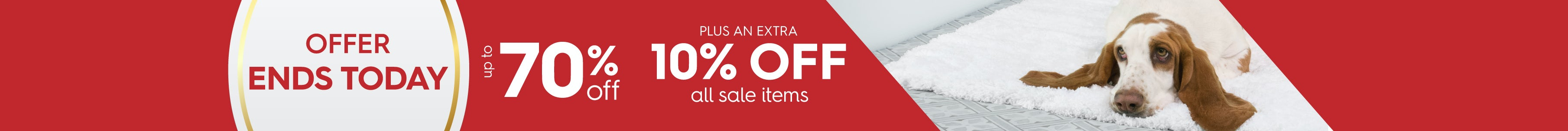Up to 70% off Big Easter Sale
