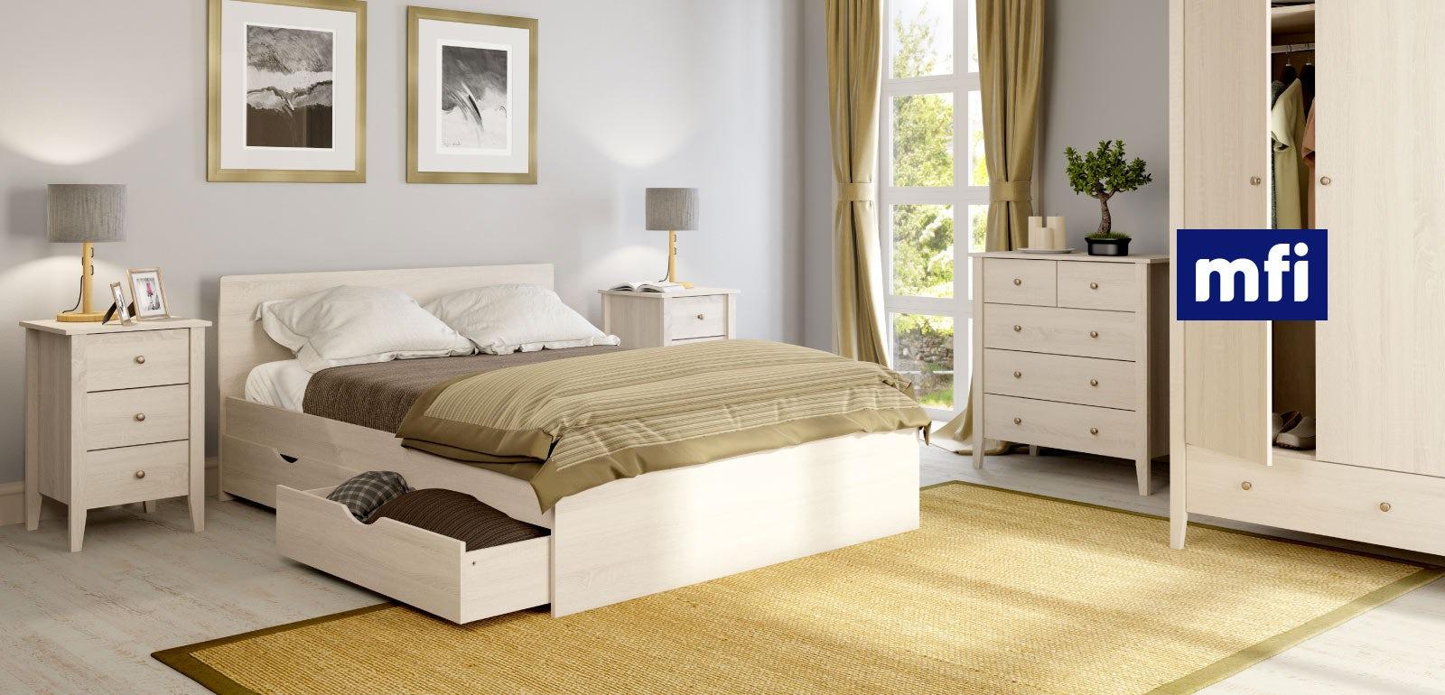 White oak bedroom furniture - Images of white bedroom furniture ...