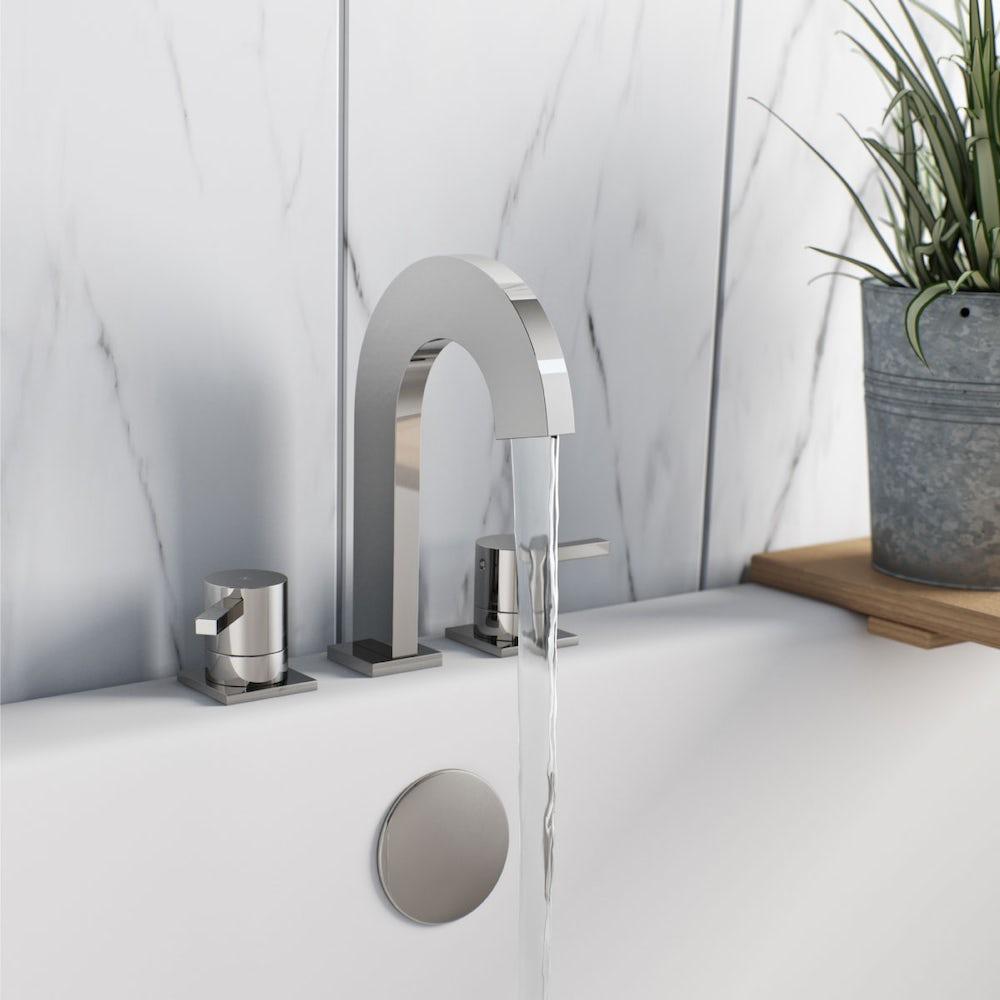 Albertis 3 tap hole basin mixer