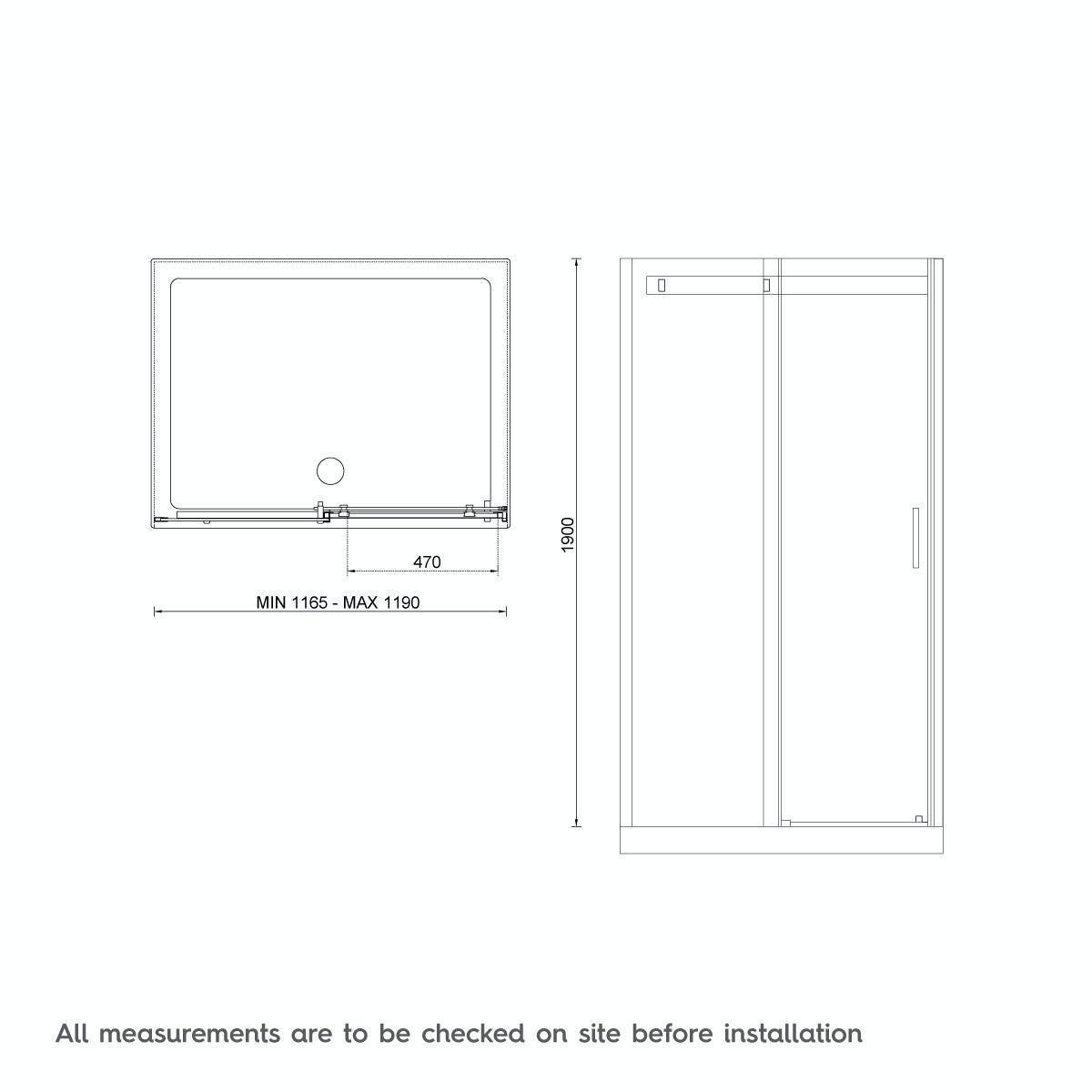 Infiniti 8mm Sliding Shower Door Offer Pack Victoriaplum Com