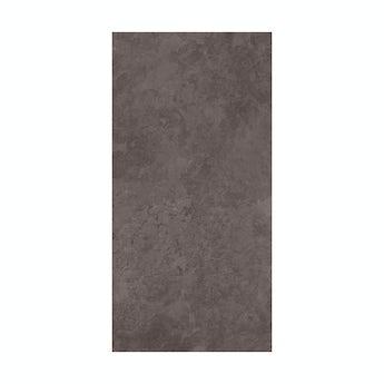 Slate dark riven grey matt tile 248mm x 498mm