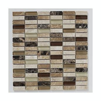 Mosaic dapple tile 305mm x 305mm - 1 sheet