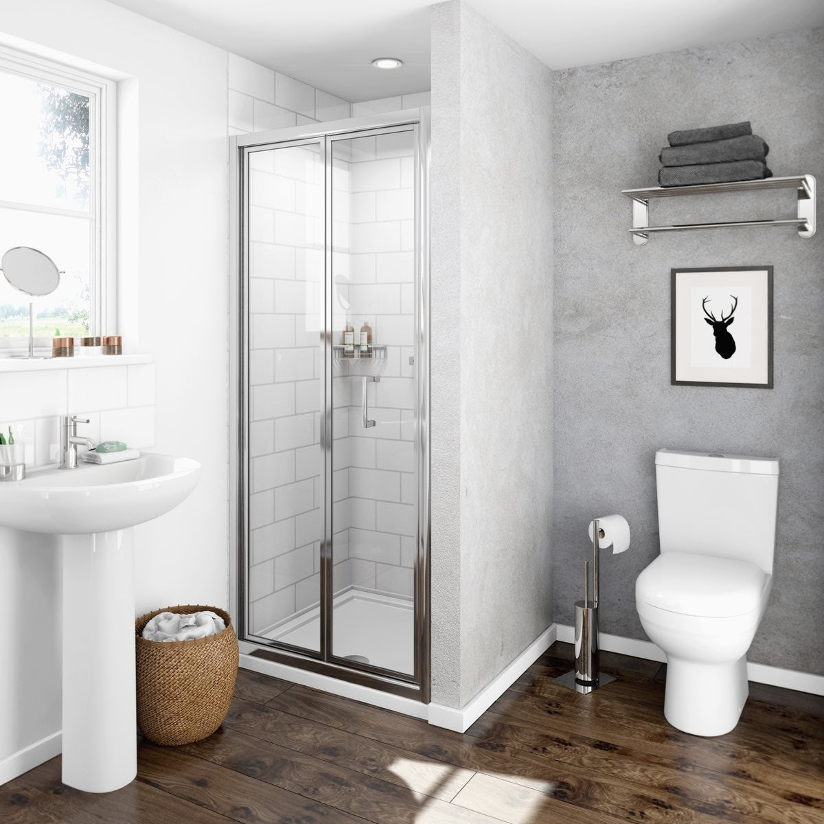 Clarity 4mm Bifold Shower Door Victoriaplum Com
