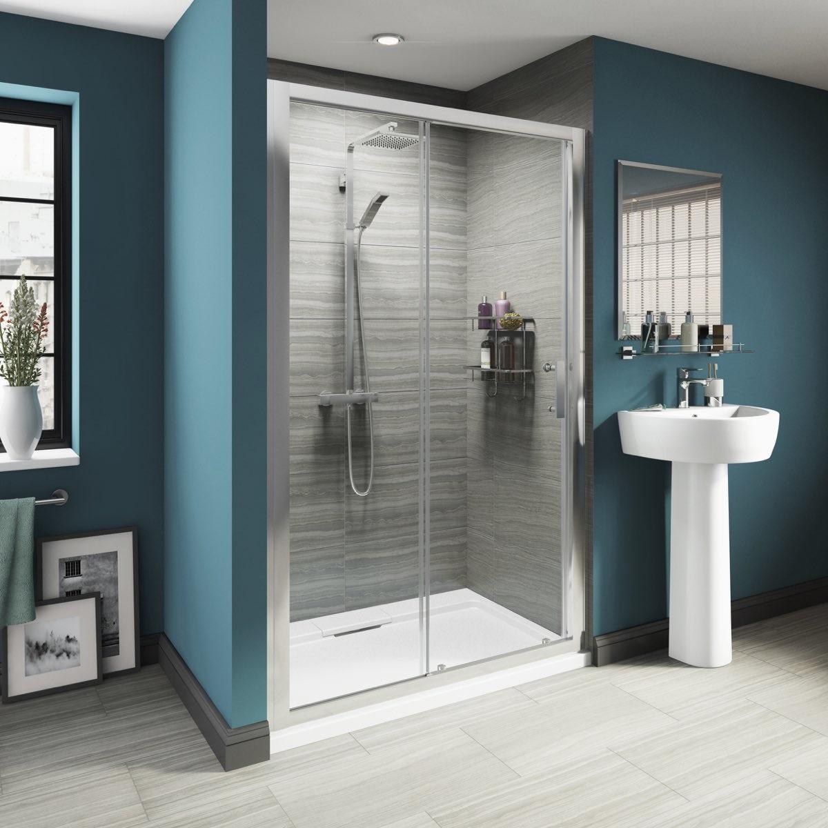 8mm framed sliding shower door 1200 with tray for 1200 shower door 8mm glass