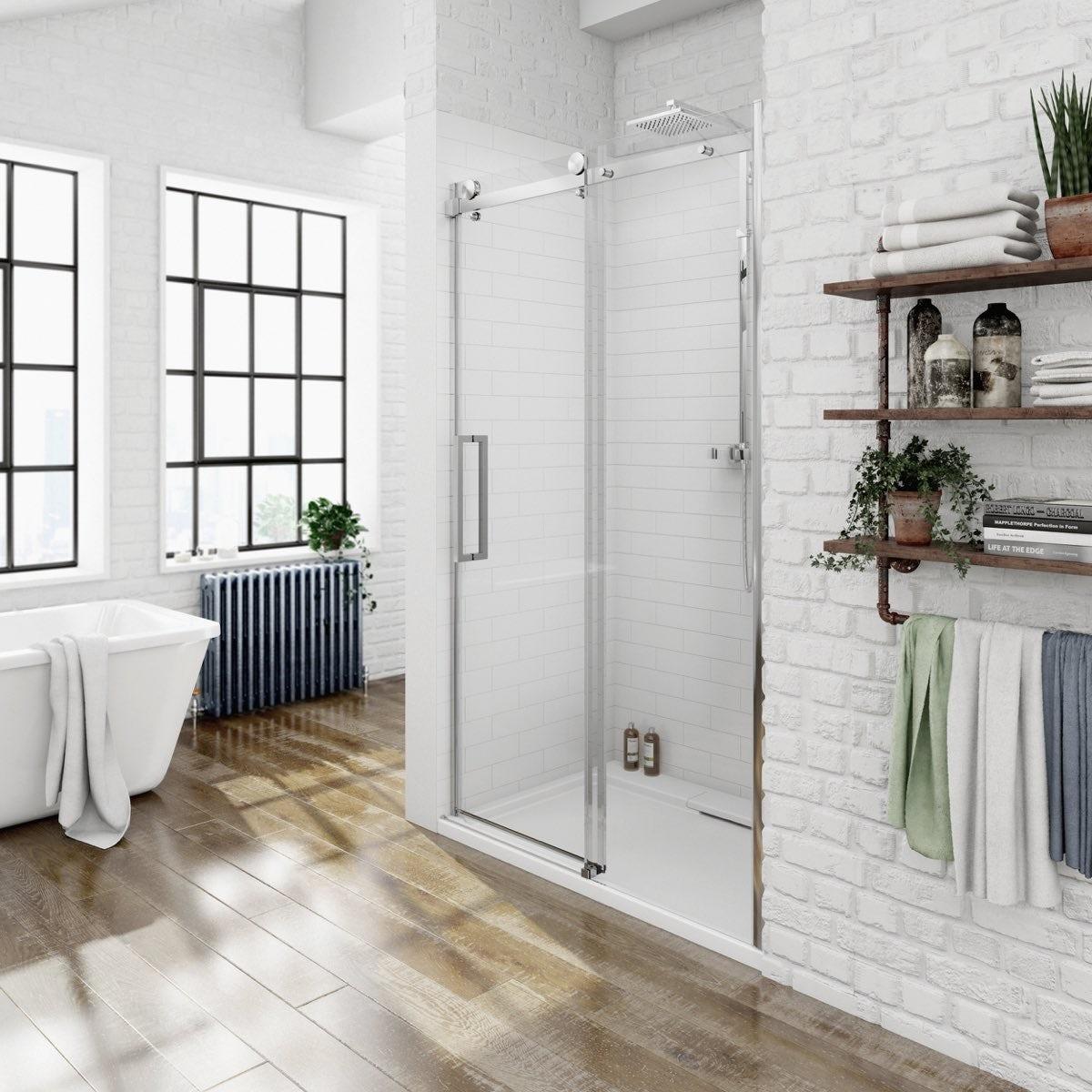 8mm frameless sliding shower door 1200 special offer for 1200 shower door 8mm glass