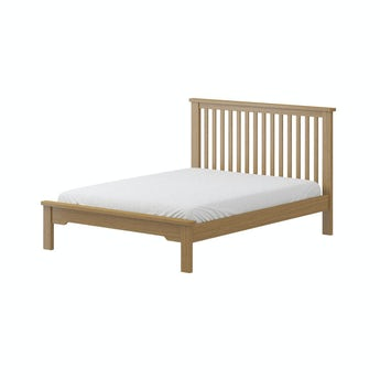 MFI Rome oak double bed