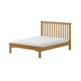 MFI Rome reclaimed pine king size bed