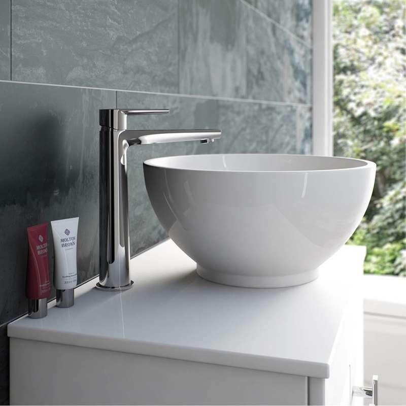 Langdale high rise counter top basin mixer tap