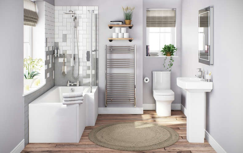 Vermont Bathroom Suite Arrange Your Metro Tiles