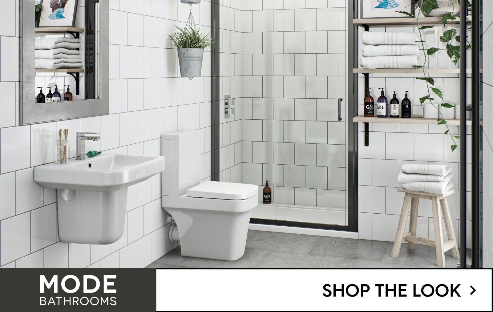 Mode Bathrooms - shop the look