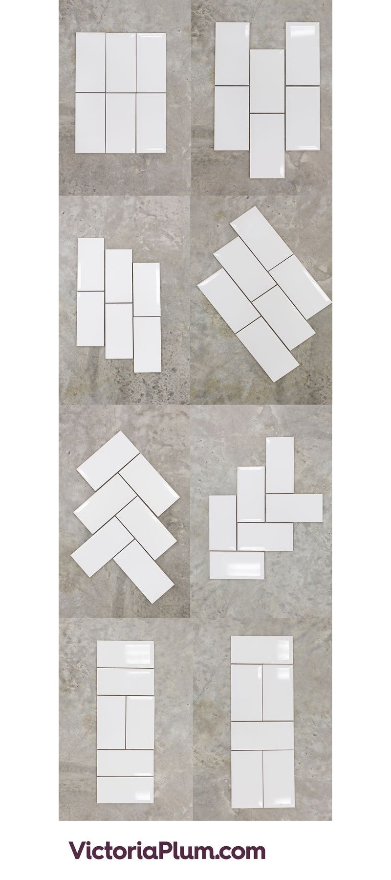 8 different ways to use metro tiles