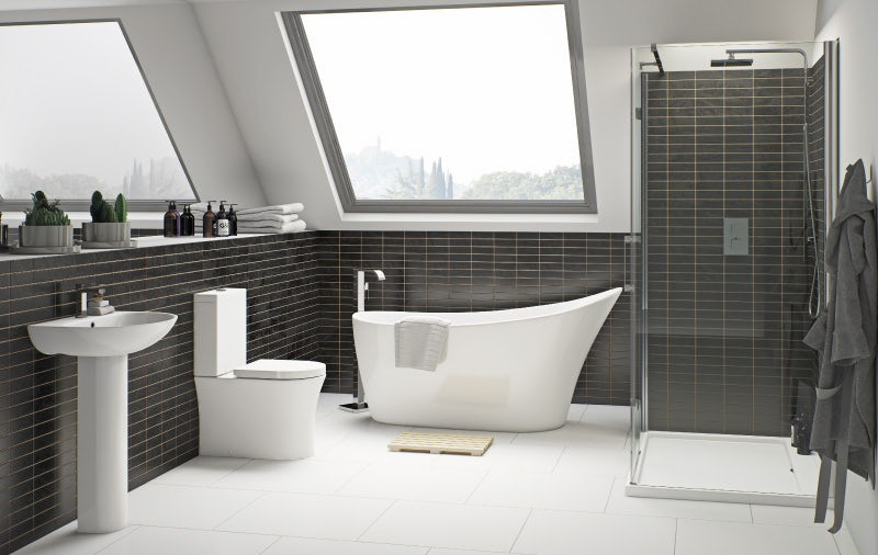 Hardy bathroom suite