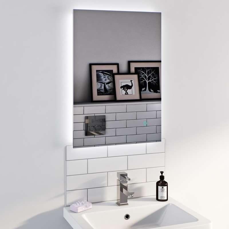 Mode Lumina variable white backlit mirror