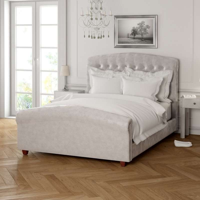 Serene silver double bed