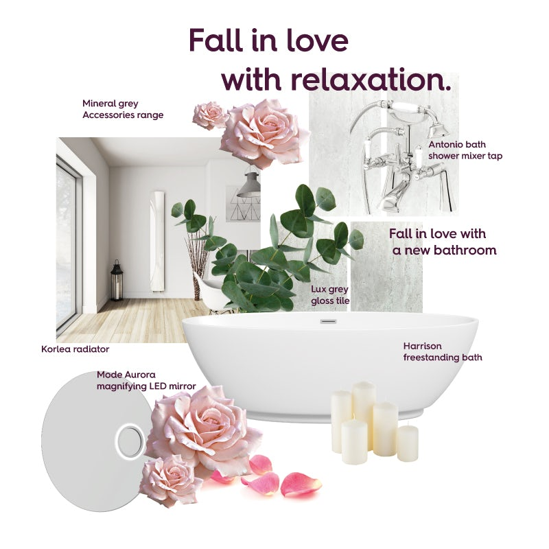 Fall in love with relaxation mood board
