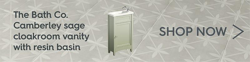 The Bath Co. Camberley white bathroom furniture