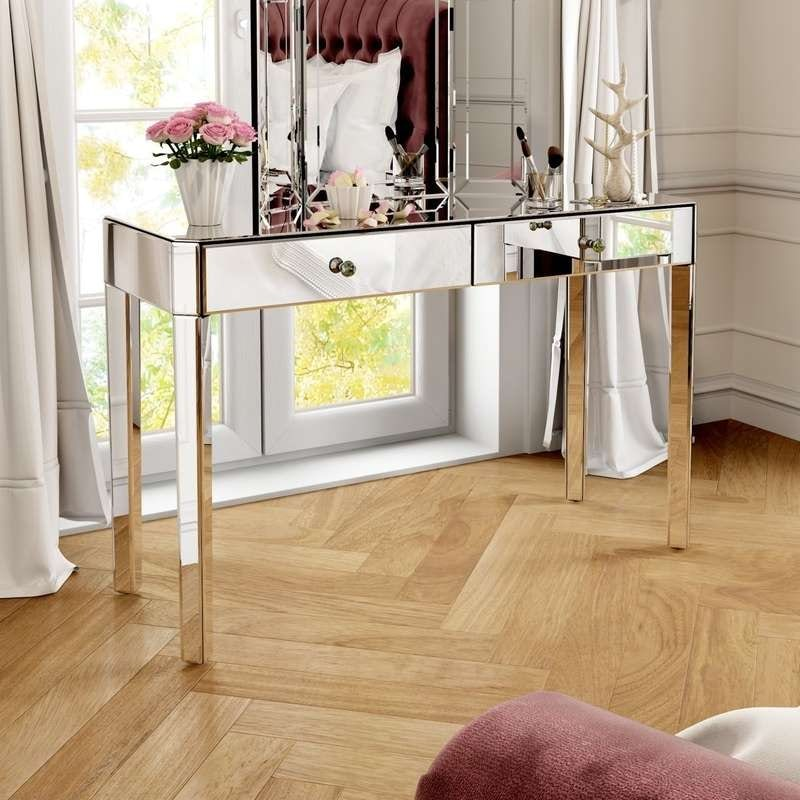 Paris mirror glass dressing table