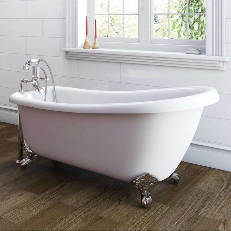 Winchester slipper bath