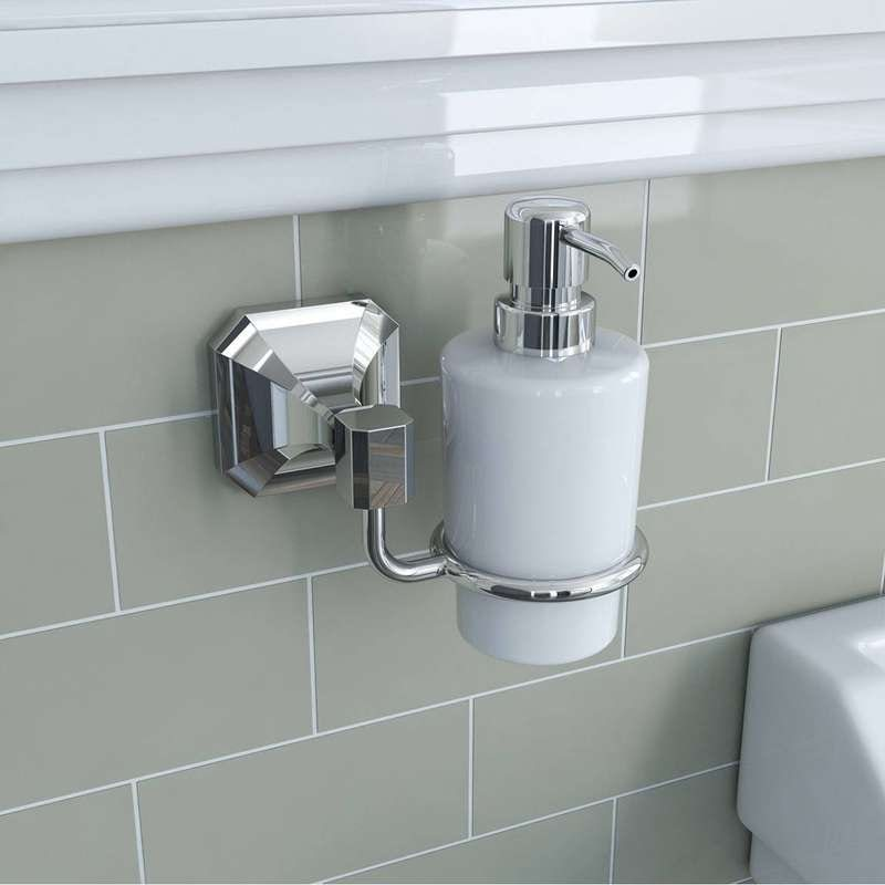 Camberley ceramic soap dispenser