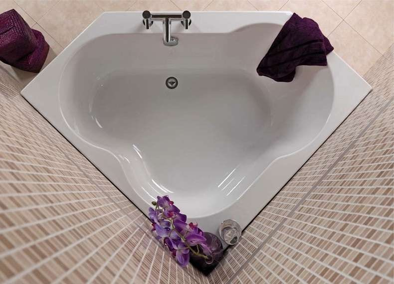 realm corner bath - Bathroom Designs And Measurements