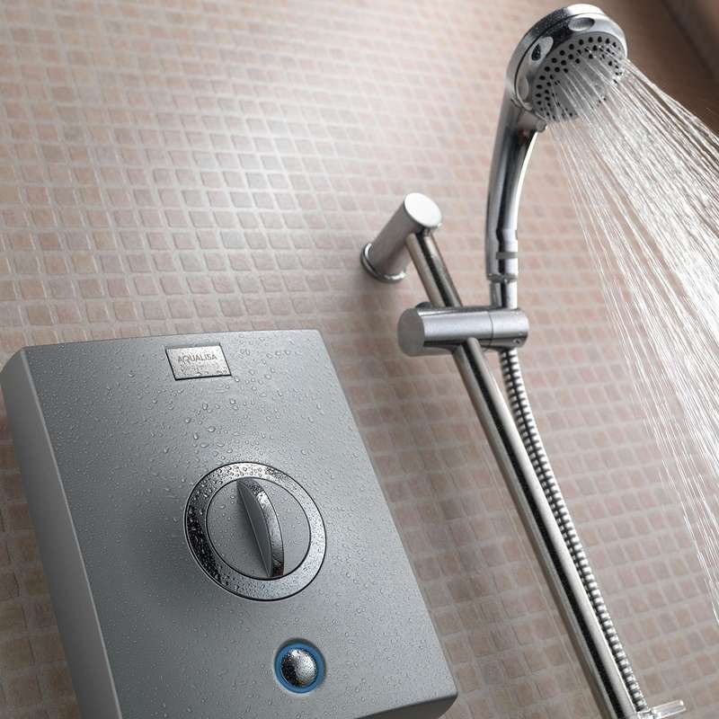 Aqualisa quartz electric shower 8.5kw