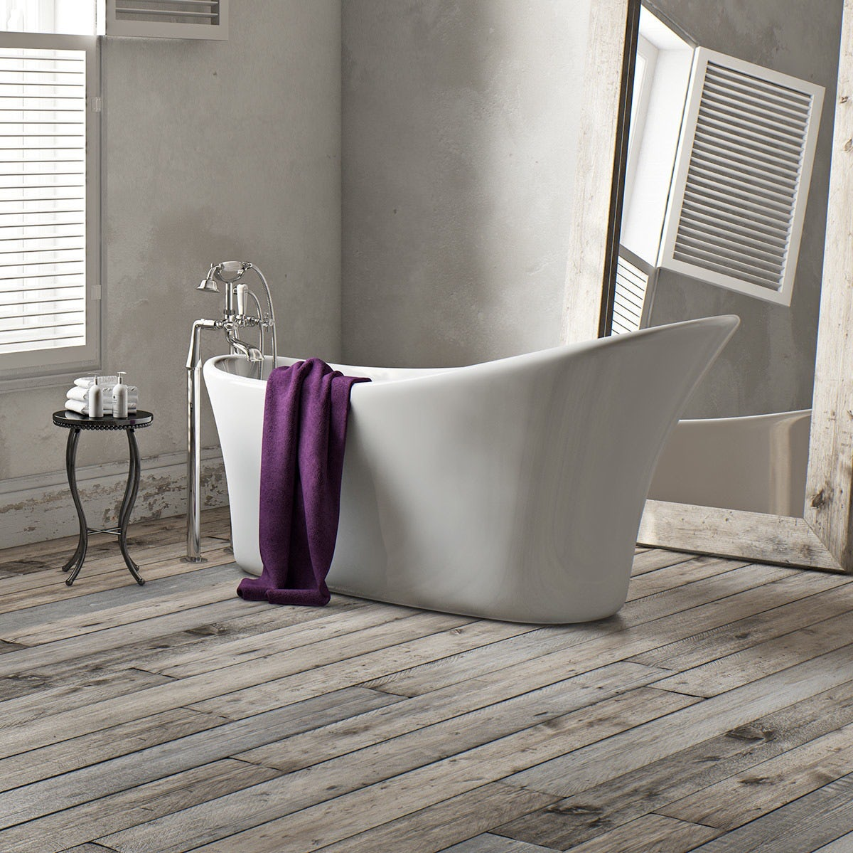 Mode Harding single ended slipper bath