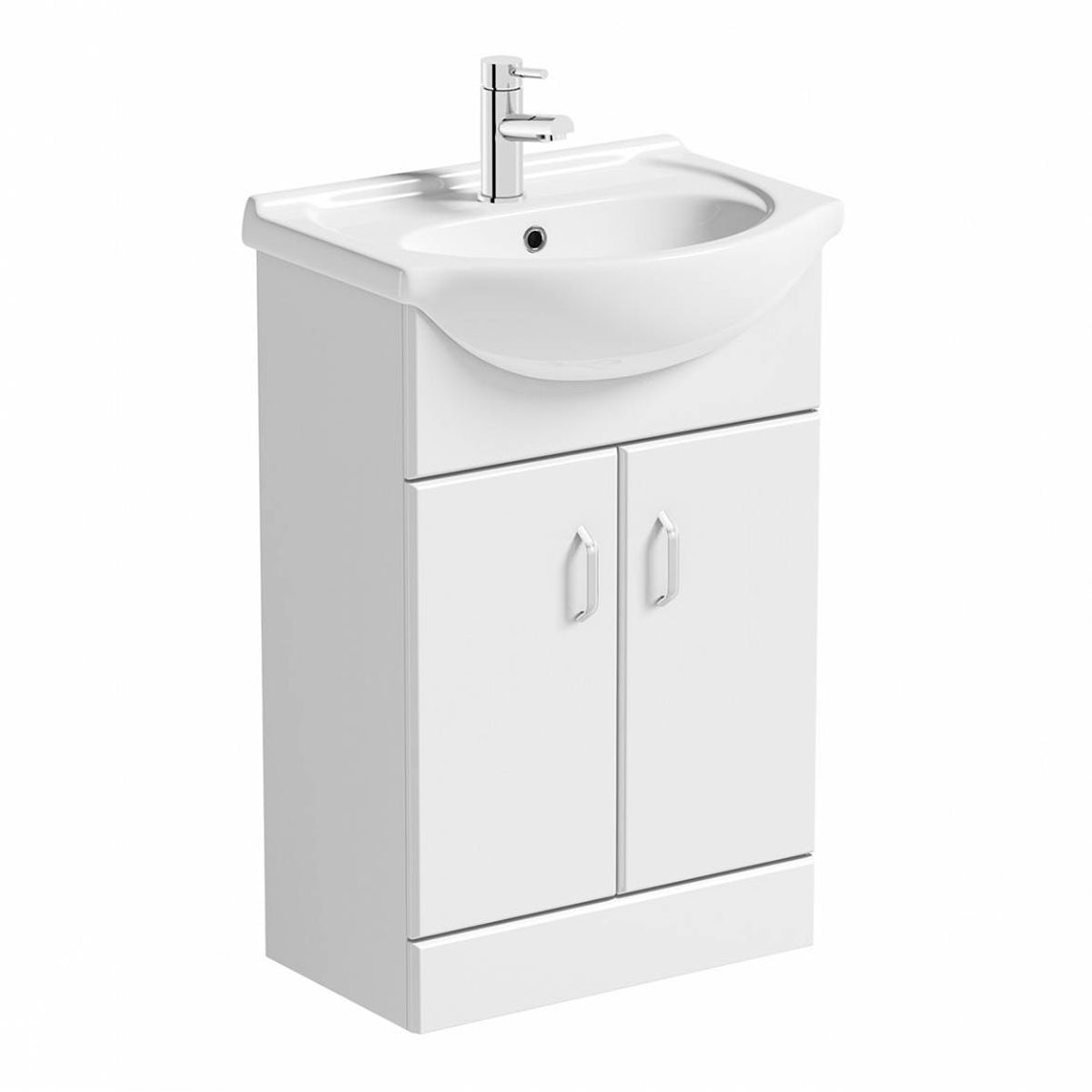 Granada 550 White Vanity Unit Basin