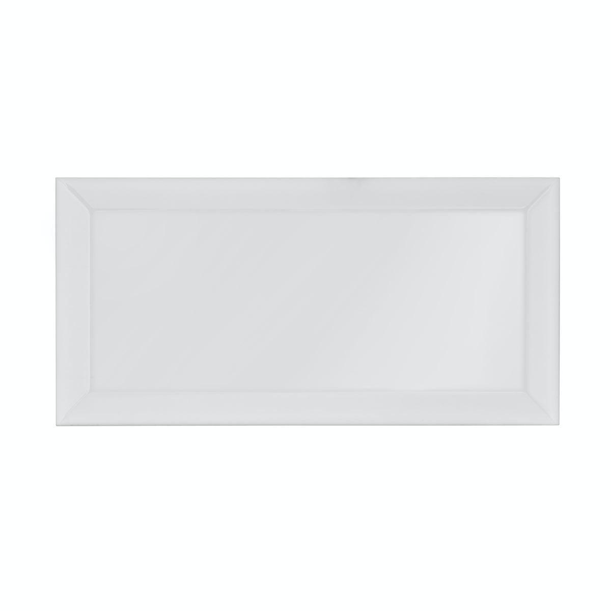 Metro White Bevel Gloss Tile 100mm X 200mm Victoriaplum Com